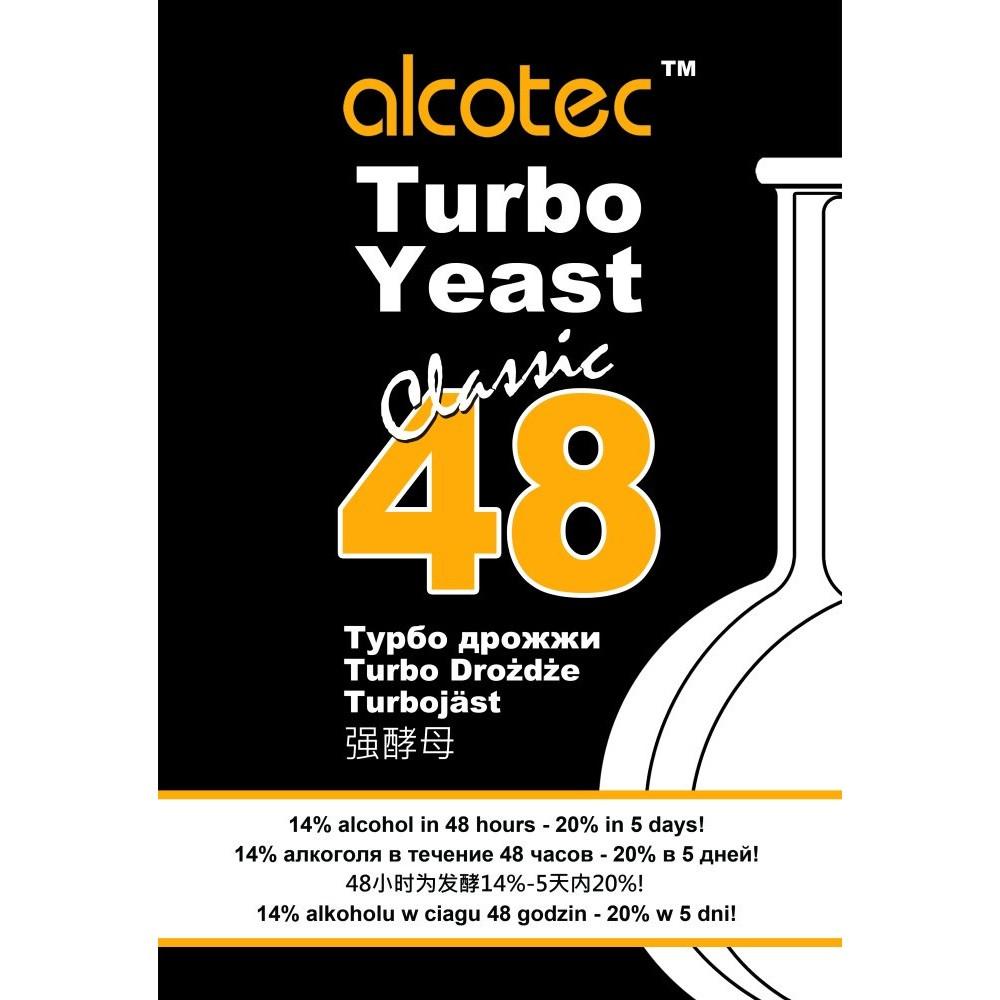 Alcotec Turbo Yeast Classic 48