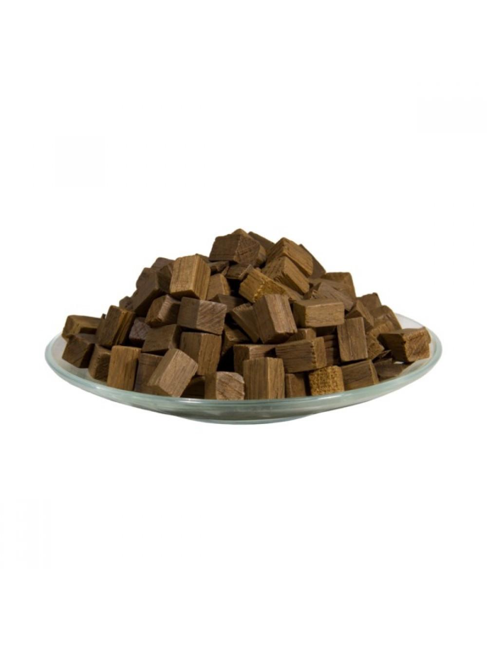Oak cubes (medium firing), 100 g