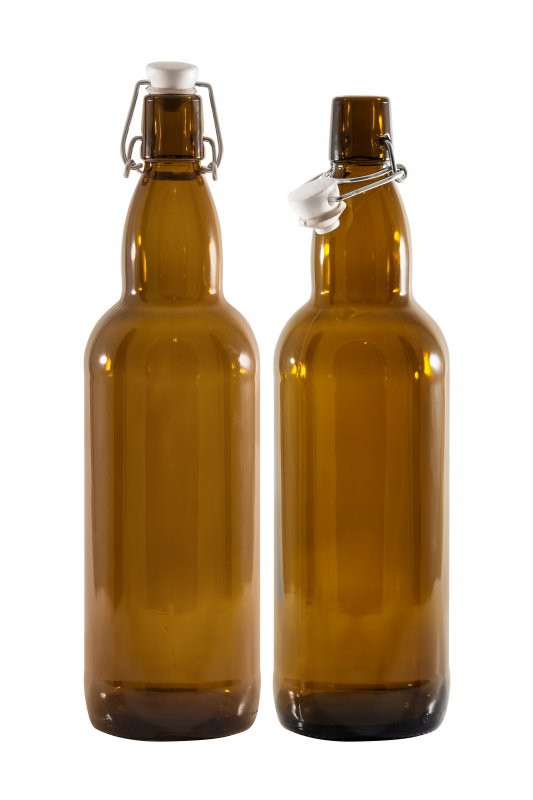 Bottle 750 ml (12/Case, Amber)