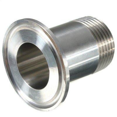 "2"" Tri-Clamp x 1-1/4 "" Male Thread Adapter"