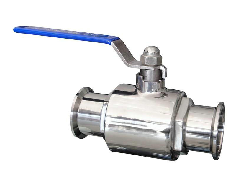 2 Inch Stainless Ball Valve with 2 Inch Tri-Clamp Ends