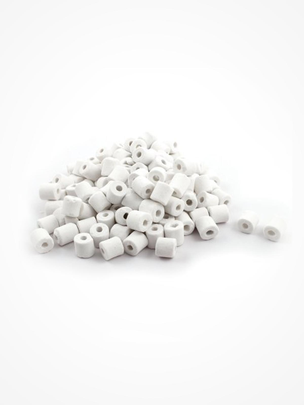 Сeramic Raschig rings (500 g, 800 ml)