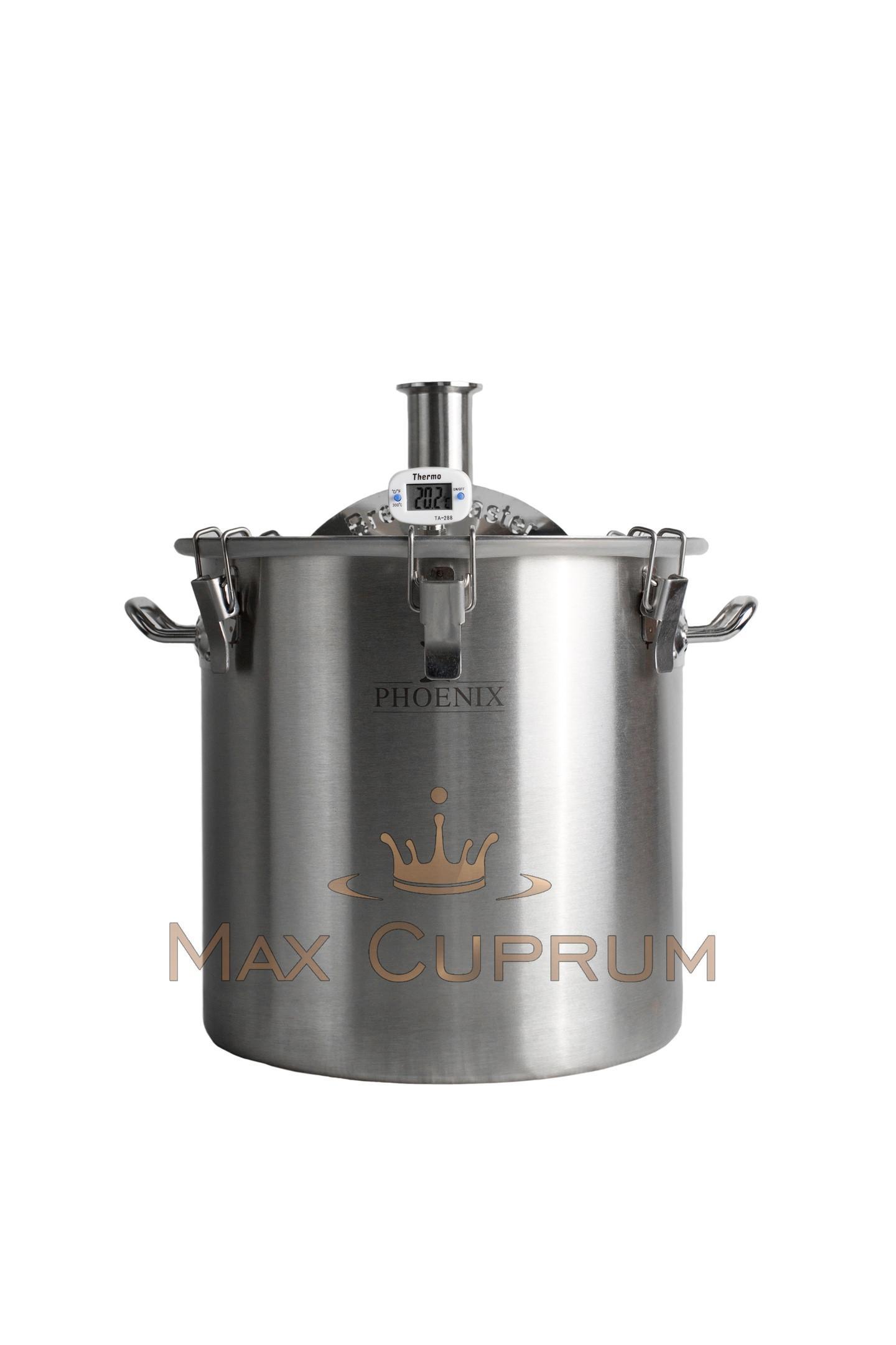 "Steel Boiler ""Brendimaster"" 12 l (Tri-Clamp 1.5"")"