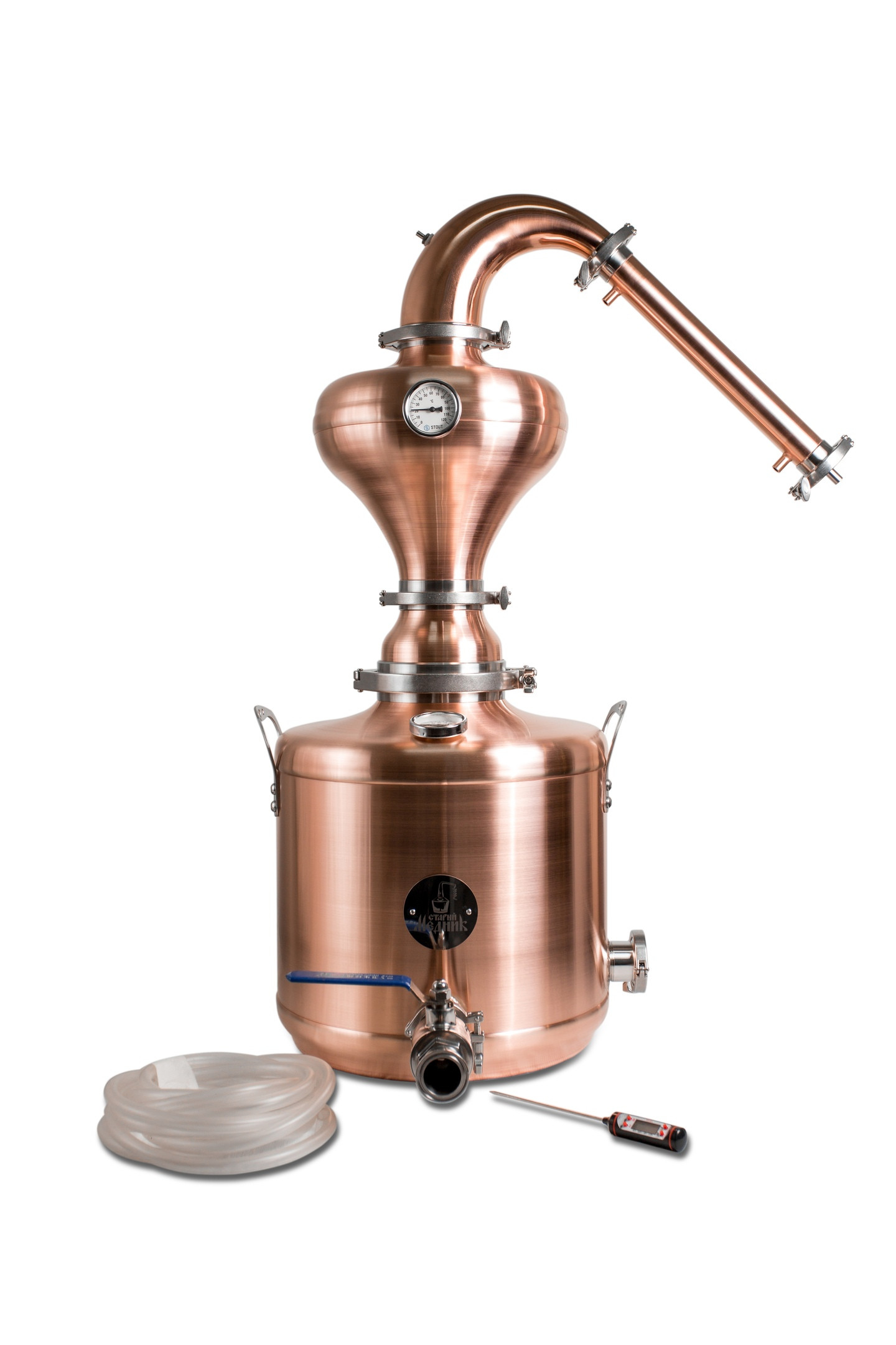 40l Whiskey Distillation Tower With Copper Helmet «Premium»