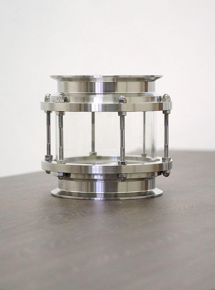 "Sight glass Tri-Clamp 6.5"""