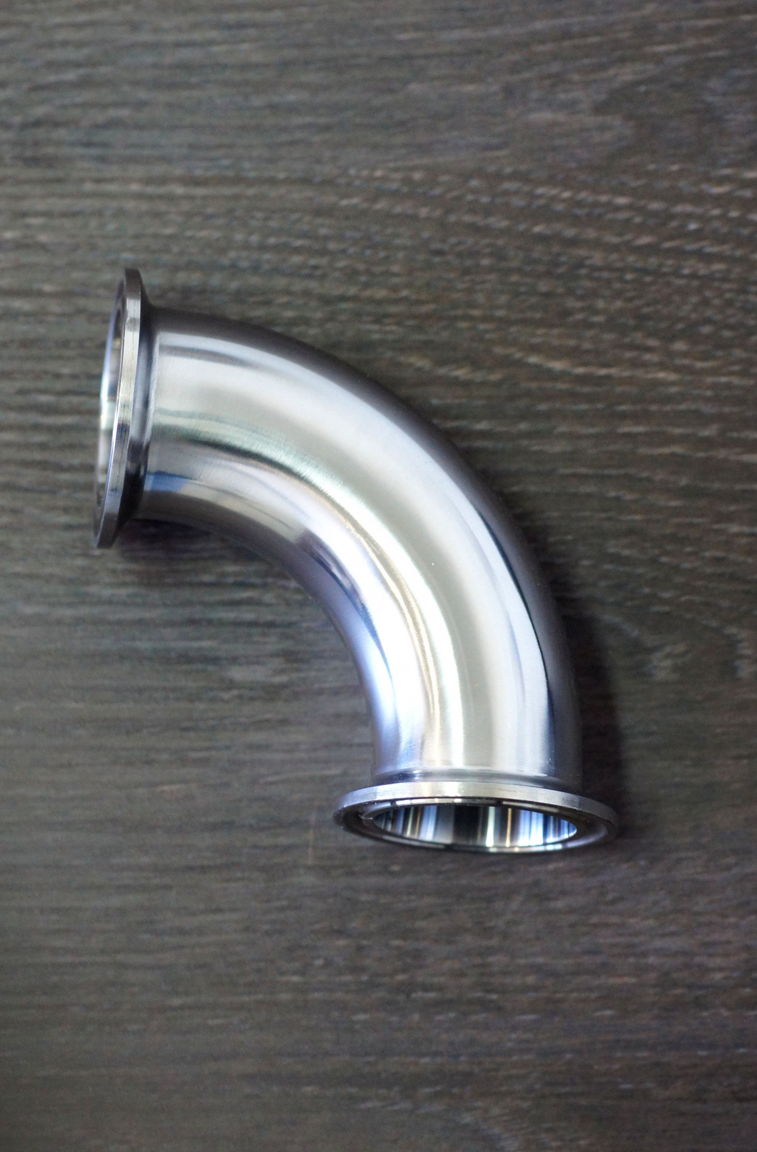 """Steel elbow 90° TRI-CLAMP 2"""""""