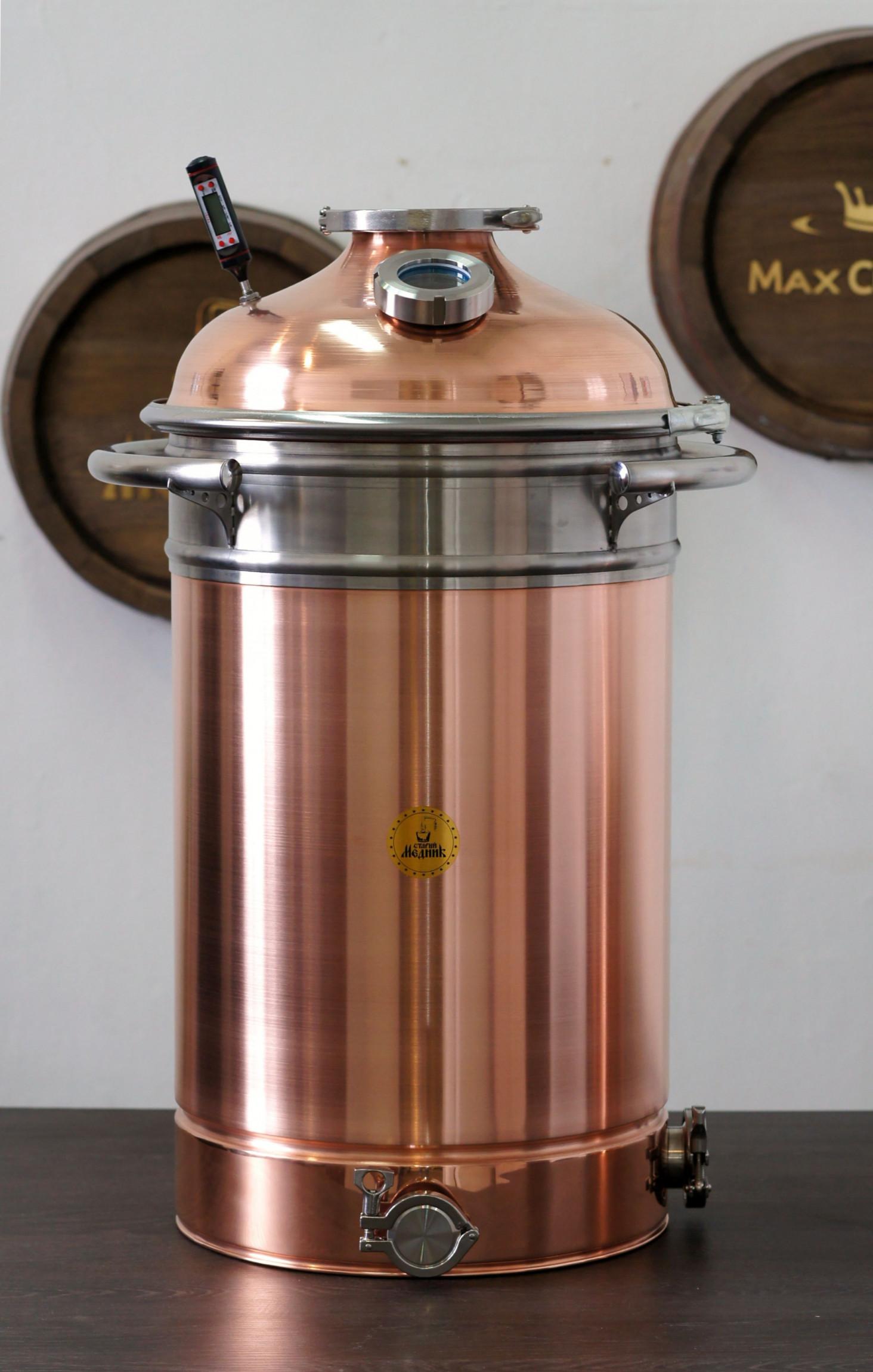 """Copper boiler 68L Premium """"Old Coppersmith"""""""