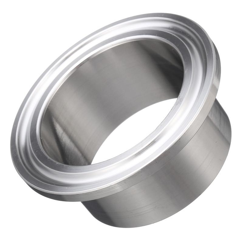 """2"""" Steel Tri-Clamp weld ferrule for tube 42 mm"""