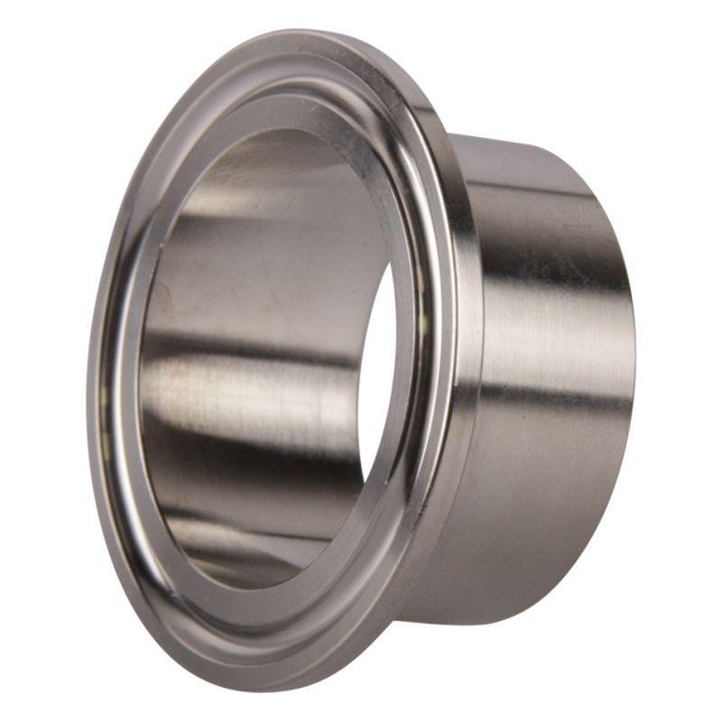 """1.5"""" Steel Tri-Clamp weld ferrule for tube 38 mm"""