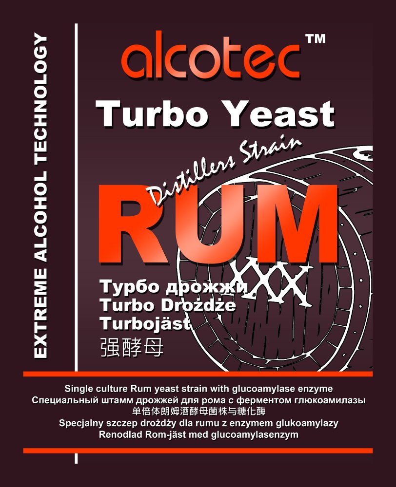 Alcotec Turbo Yeast Rum