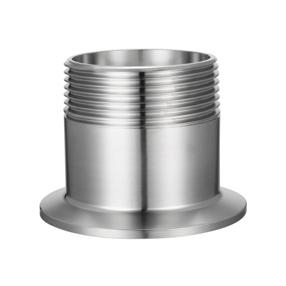 "2"" Tri-Clamp x 1-1/2 "" Male Thread Adapter"