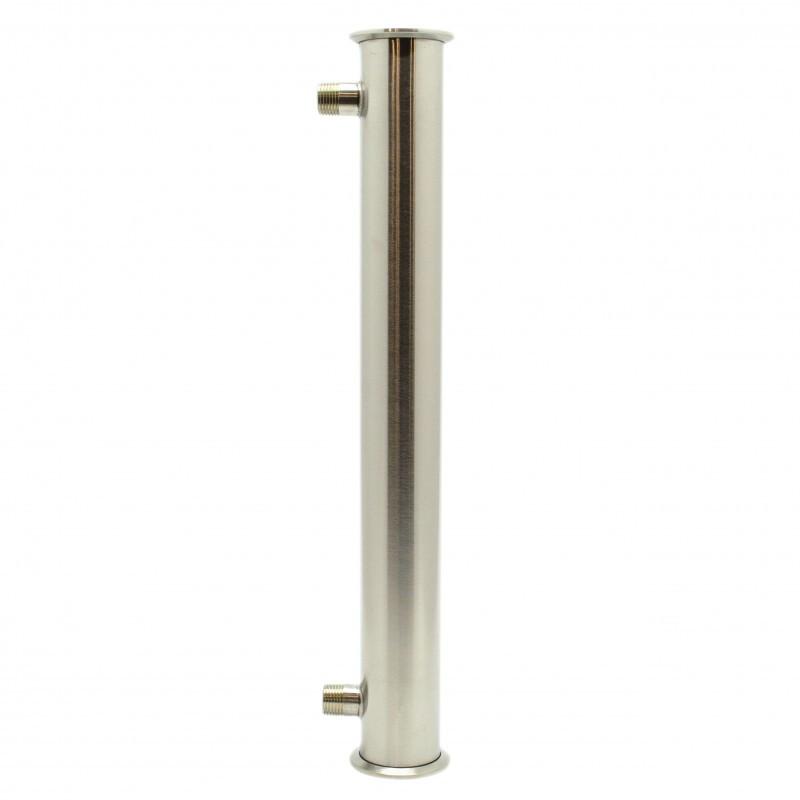 "Steel shell-and-tube сondenser (Tri-Clamp 2"", 7 tubes, 45 cm)"