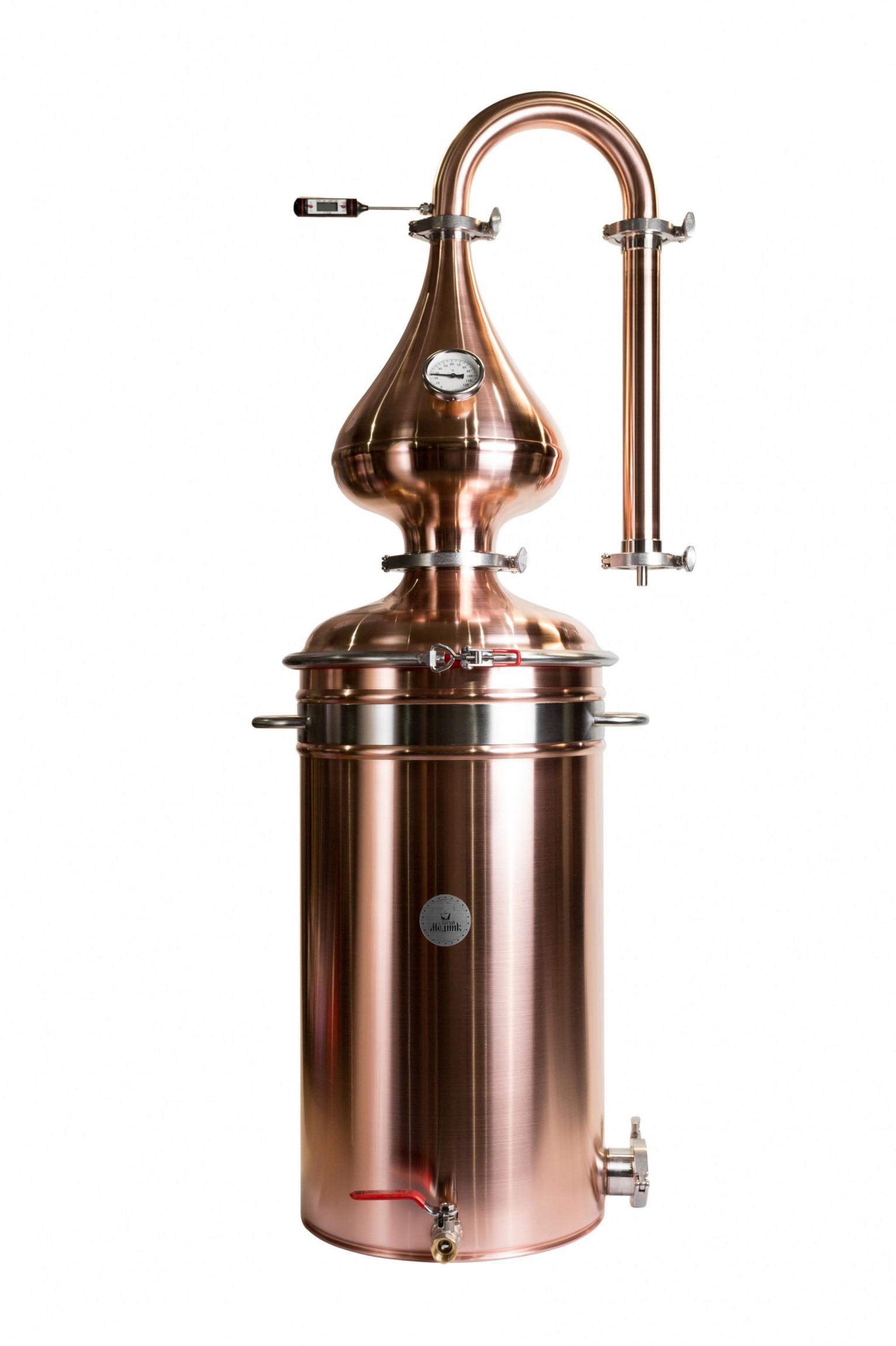 "Moonshine distiller Medium 45 l ""Old Coppersmith"""