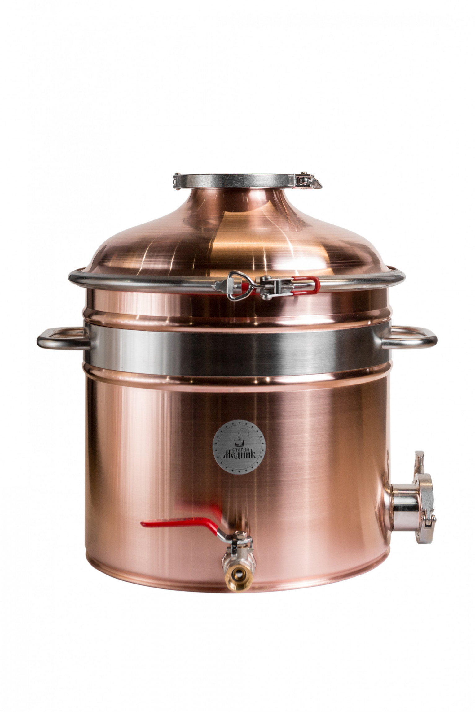 "Copper boiler 25L Medium ""Old Coppersmith"""