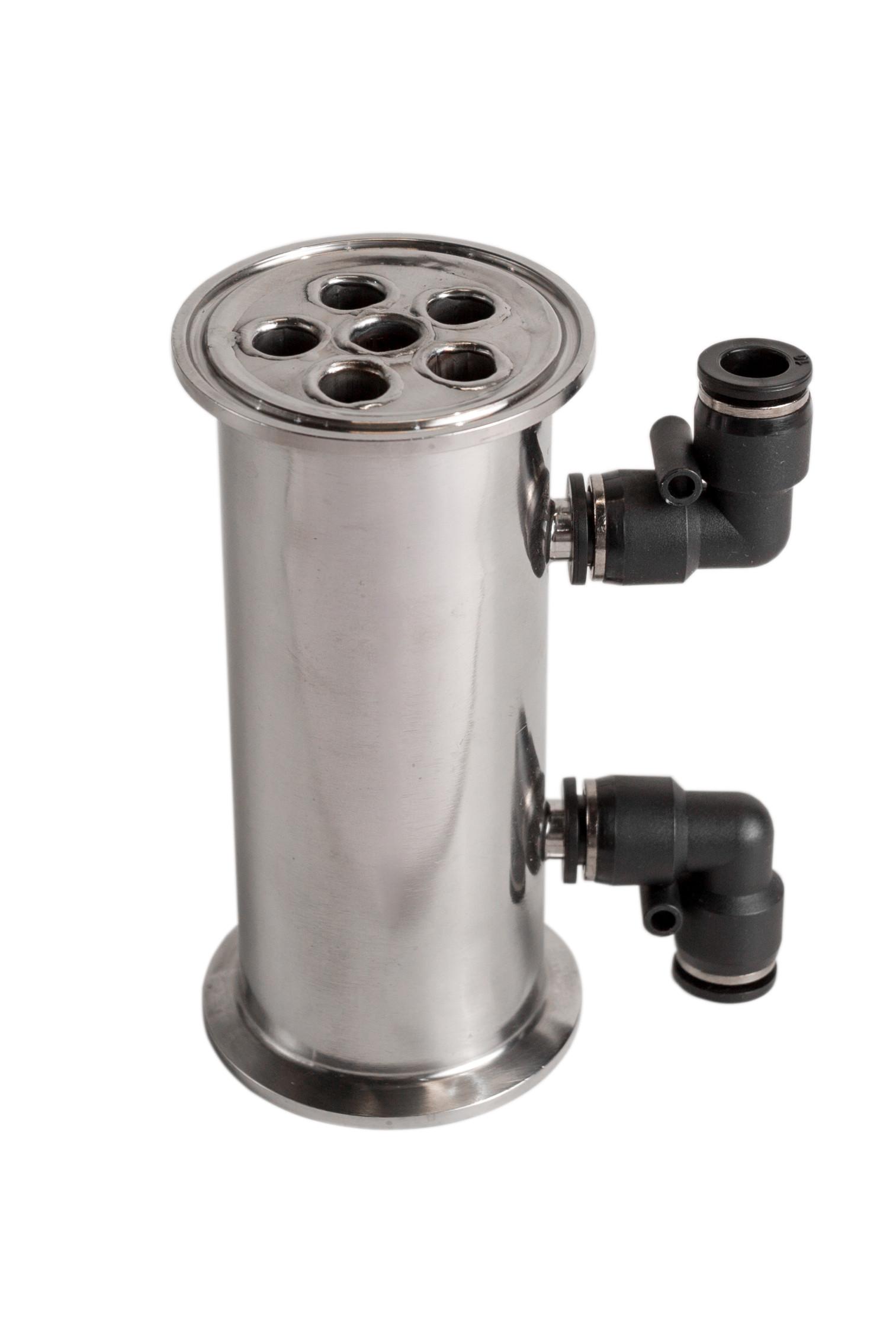 "Steel shell-and-tube сondenser (Tri-Clamp 2"", 6 tubes, 13 cm)"