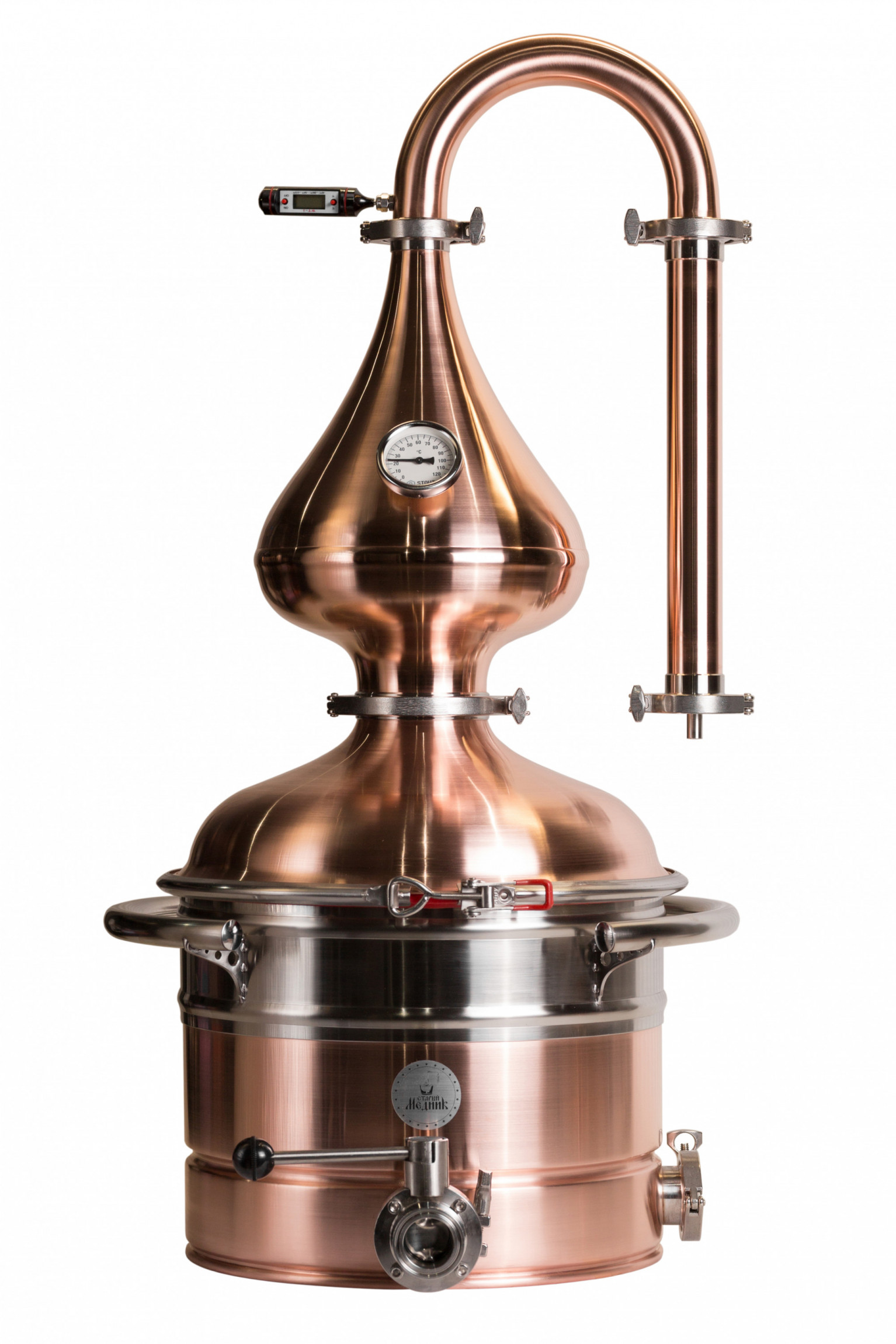 "Moonshine distiller Medium 35 l ""Old Coppersmith"""