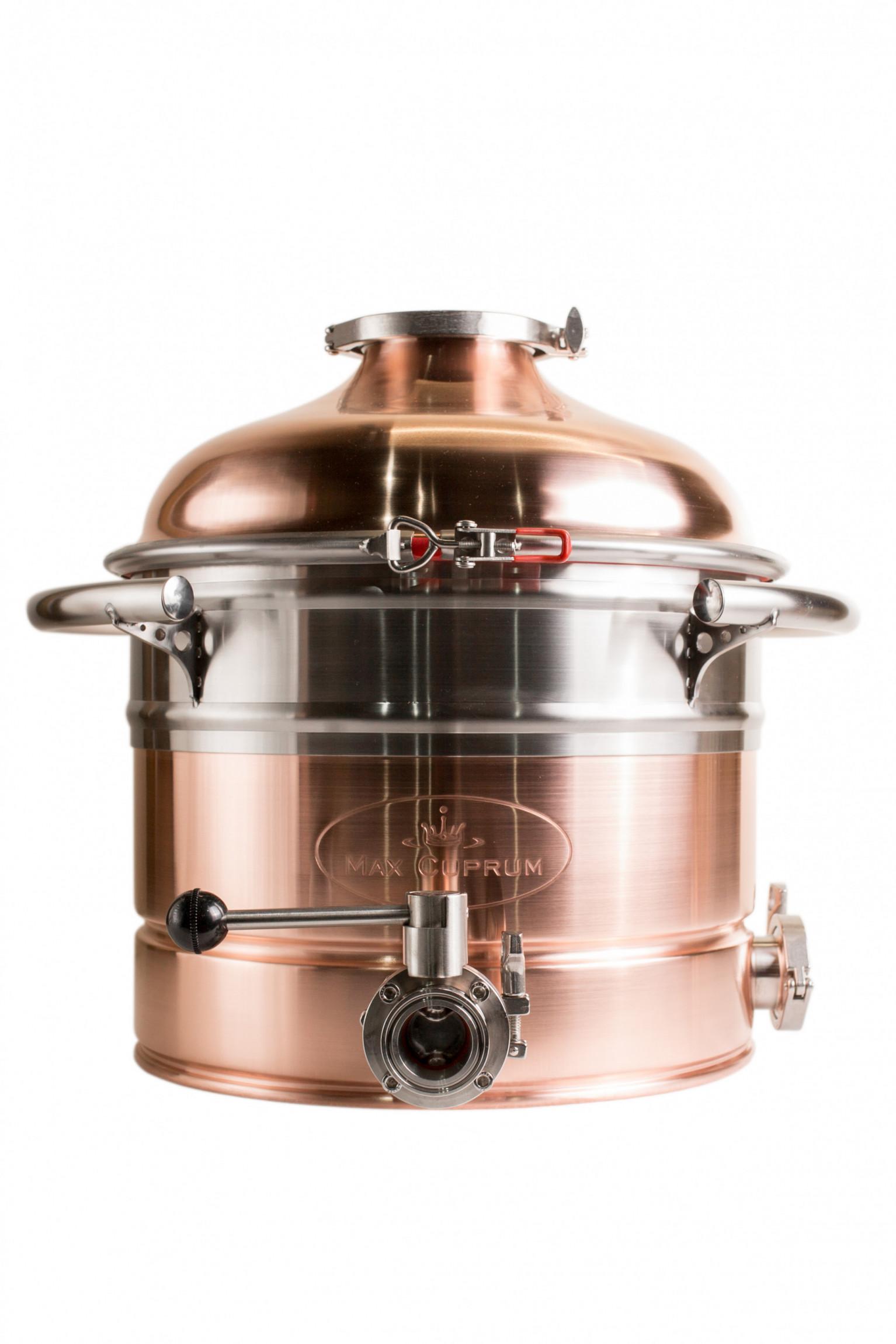 """Copper boiler 35L Premium """"Old Coppersmith"""""""