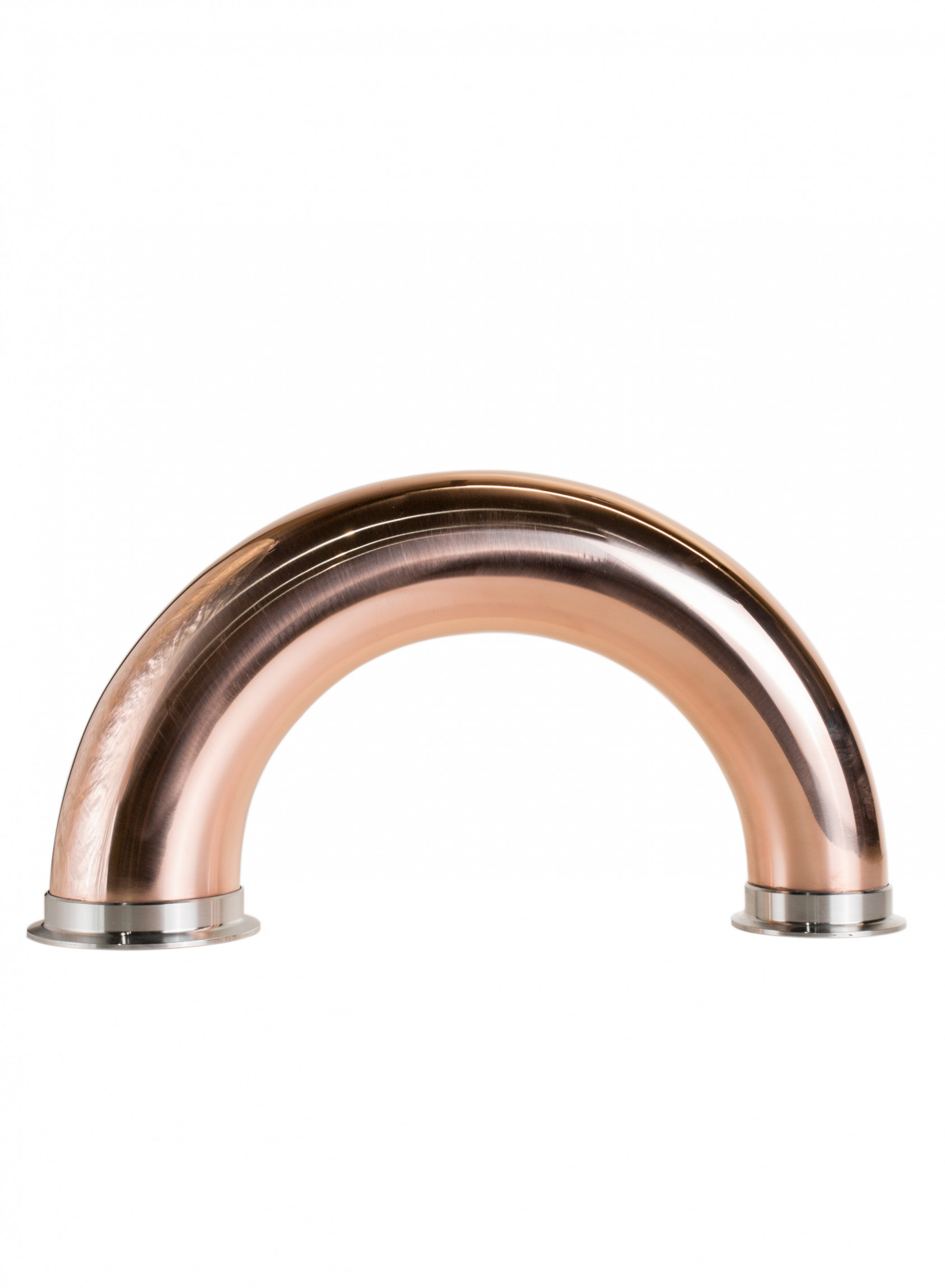 """Copper reducer & bend 180° (CLAMP 3""""-4"""")"""
