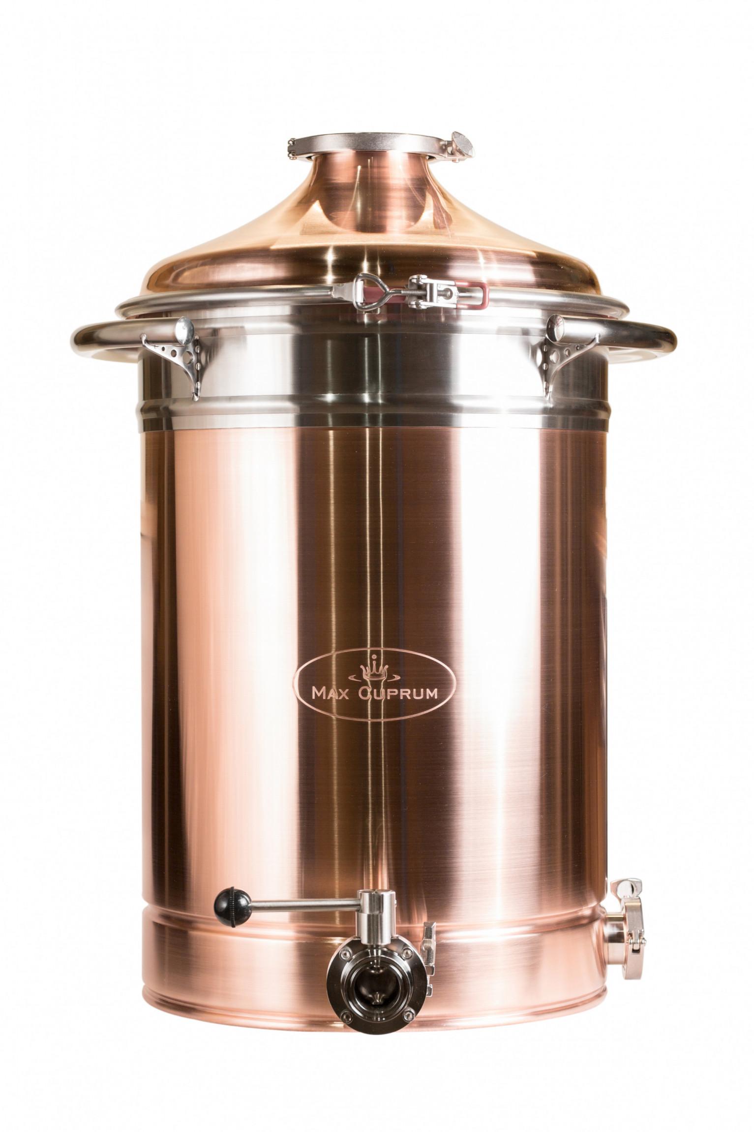 """Copper boiler 81L Premium """"Old Coppersmith"""""""