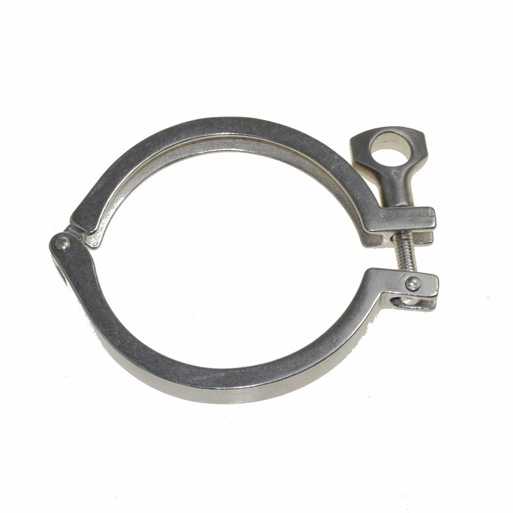 """4"""" Stainless steel tri-clover clamp"""
