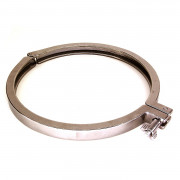 "6.5"" Stainless steel tri-clover clamp"