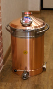 "Copper boiler 81L Premium ""Old Coppersmith"""