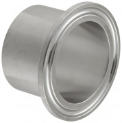 "1.5"" Steel Tri-Clamp weld ferrule"